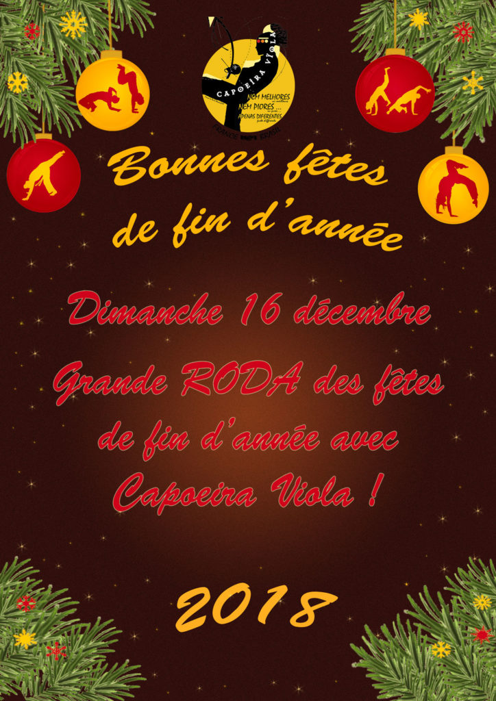 16 décembre 2018: roda de Capoeira Viola