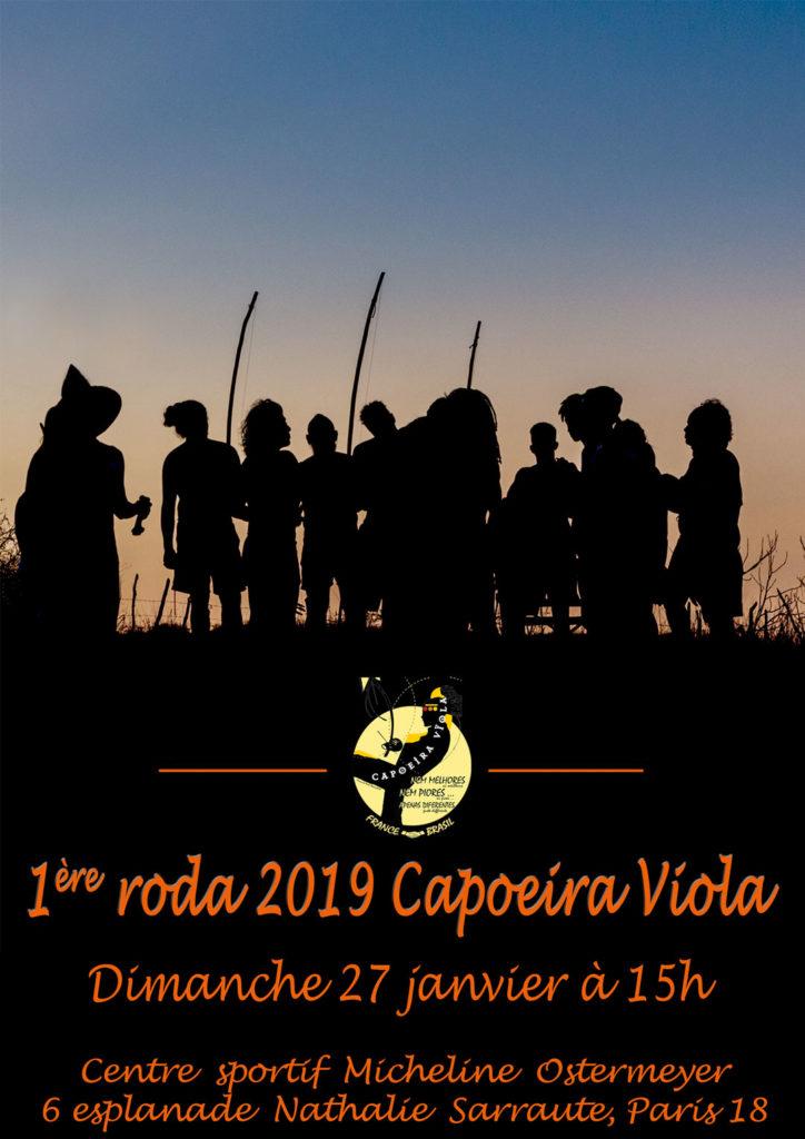 dimanche 27 janvier 1 re roda 2019 avec capoeira viola capoeira viola paris. Black Bedroom Furniture Sets. Home Design Ideas