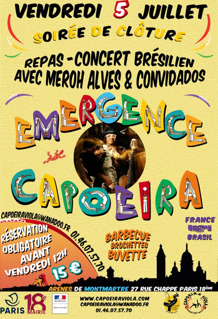 Repas-concert Meroh Alves - Capoeira viola