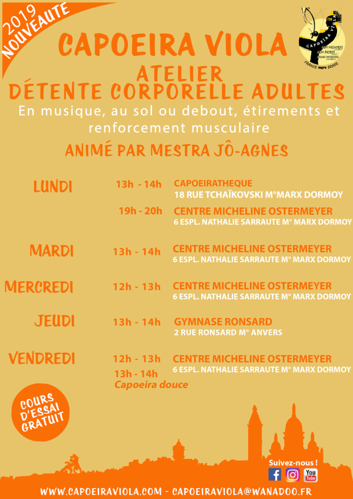 Capoeira Viola: cours-adultes-detente-corpo-sept-2019-Paris