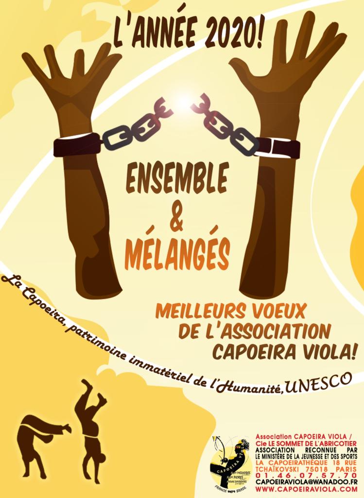 bonne année 2020 Capoeira Viola