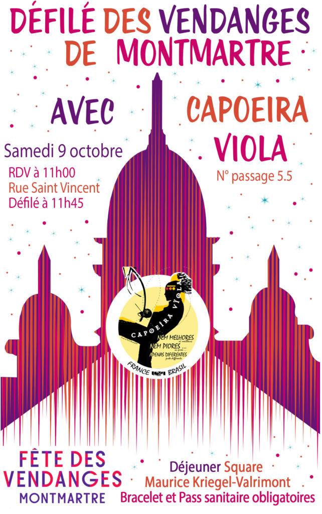 défilé Vendanges de Montmartre Samedi 9 octobre 2021